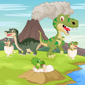 Dinosaurs game for Toddlers !