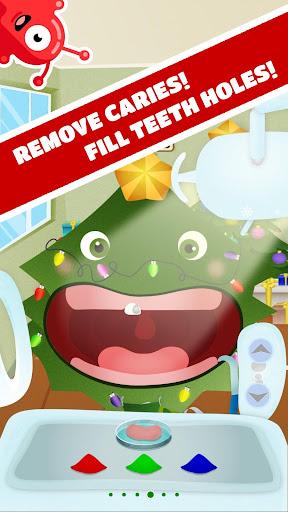 Tiny Dentist Christmas android2mod screenshots 1