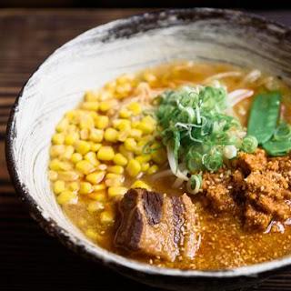 Tantan Ramen Soup.