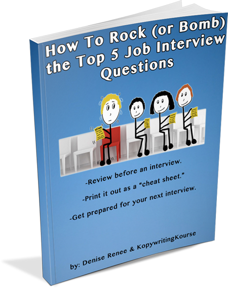 How To Rock (or Bomb) the Top 5 Job Interview Questions