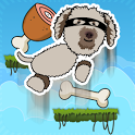 Happy Dog Jump - Golden Doodle icon
