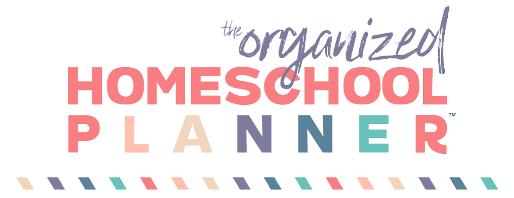 Looking to get your homeschool organized this year? The Organized Homeschool Planner can help!
