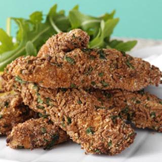 Spicy Crumbed Chicken Strips with Zesty Lemon Dip Recipe