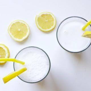 Coconut Lemon Smoothie (Vegan, Paleo, Gluten-Free).