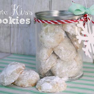 Snow Kiss Cookies.