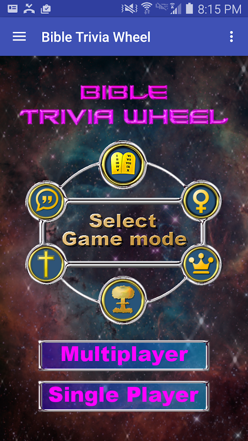 Bible Trivia Wheel -Bible Quiz- screenshot