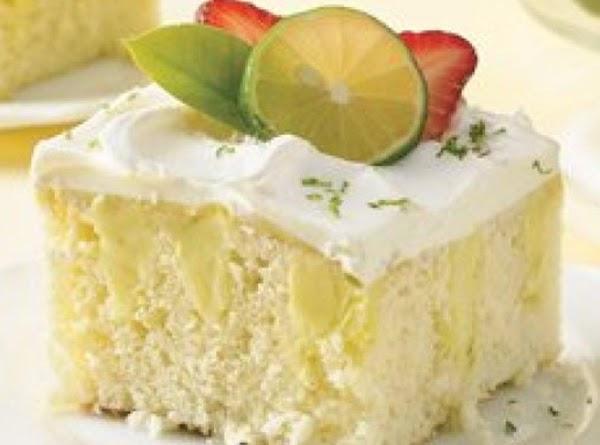 Key Lime Poke Cake Recipe