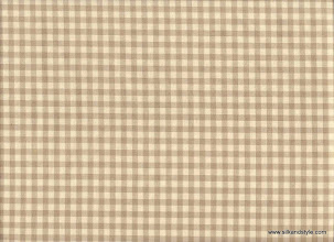 Photo: Silk Taffeta - Small Checks ~ IND - 3C