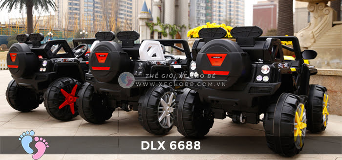o to dien dia hinh 4 dong co DLX-6688 2