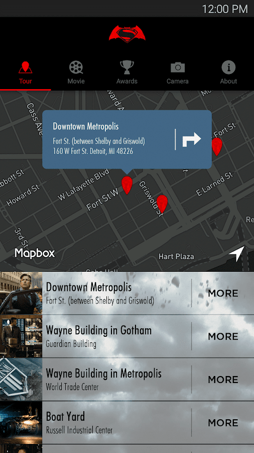 Batman v Superman Tour- screenshot