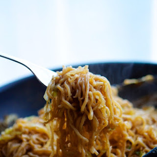 15 Minute Chow Mein Noodles.