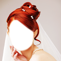 Bridal Hairstyle Photo Montage icon