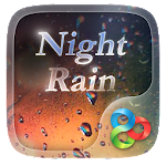 Night Rain GO Launcher Theme v1.0.1 Apk