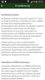 Combis Conference - náhled
