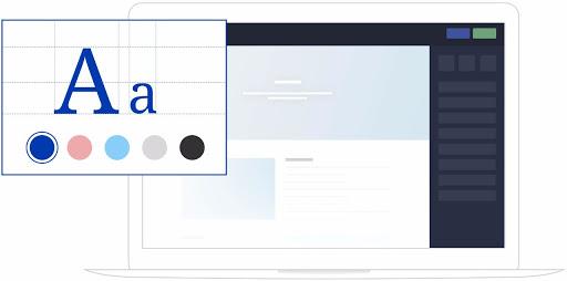 logiciel pour création de site internet design