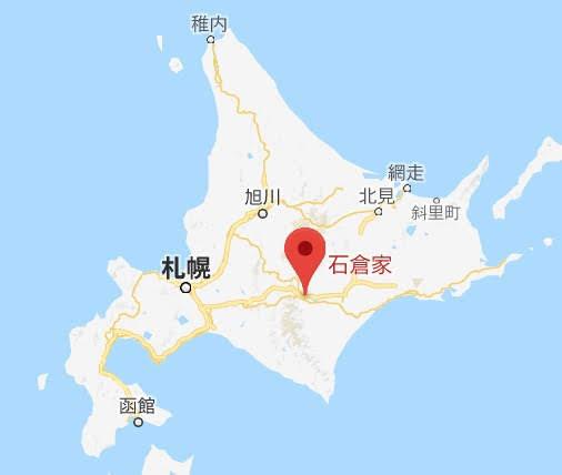 地図:石倉屋