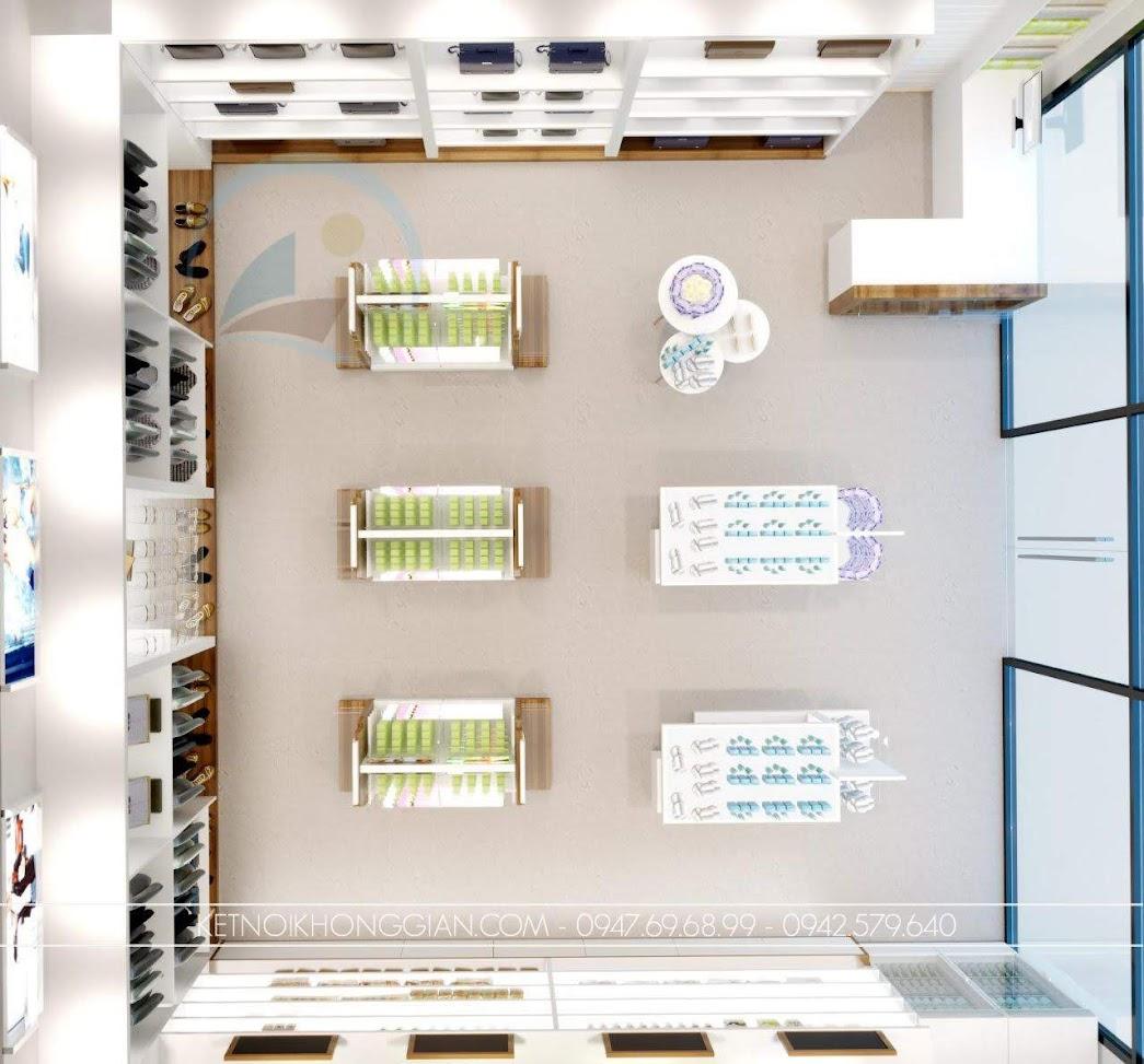 thiết kế cửa hàng đồ nhập khẩu