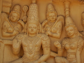 Photo: #022-Kanchipuram, le temple de Kailashanatha