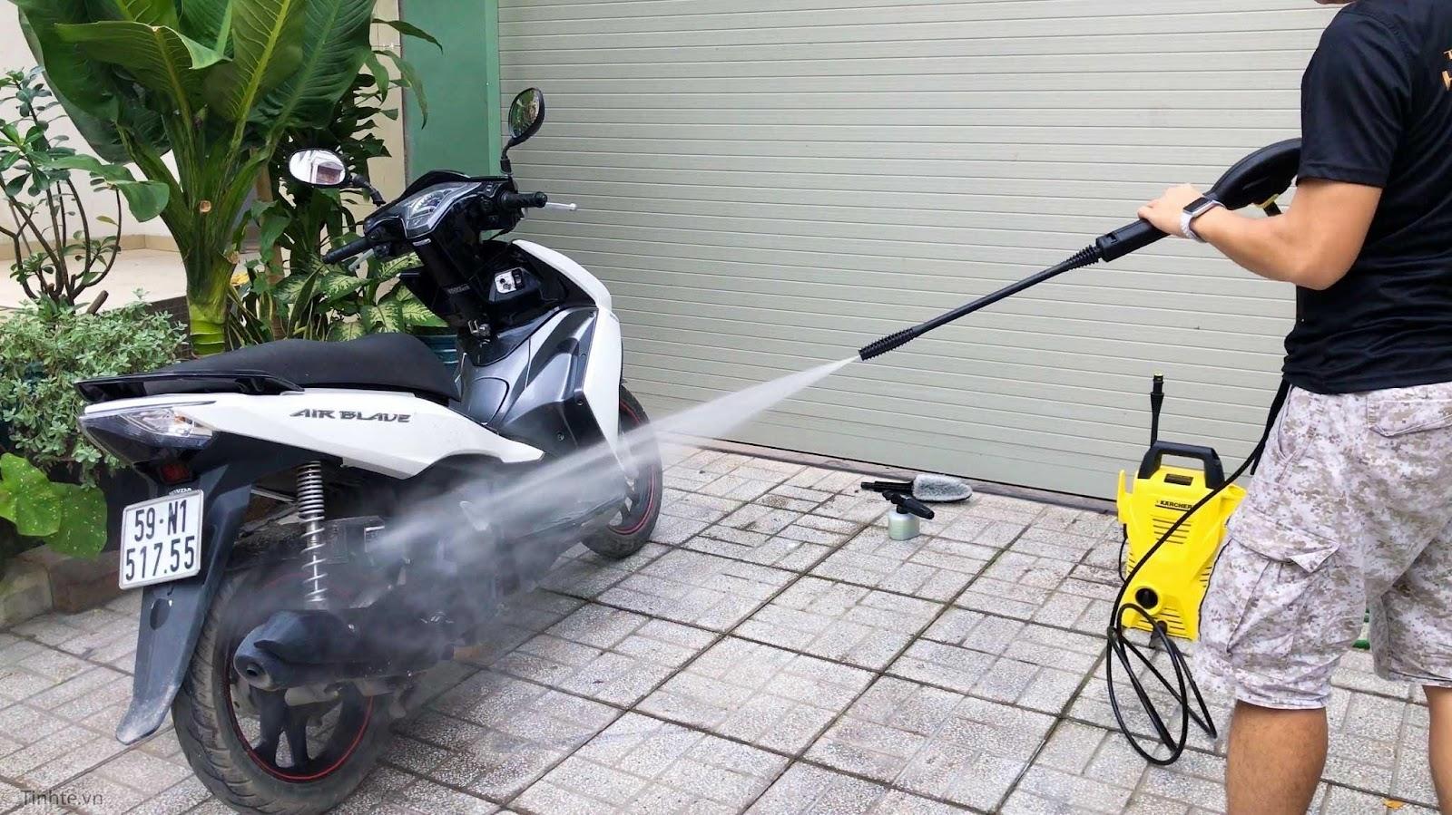 Kết quả hình ảnh cho mua máy rửa xe tại nhà