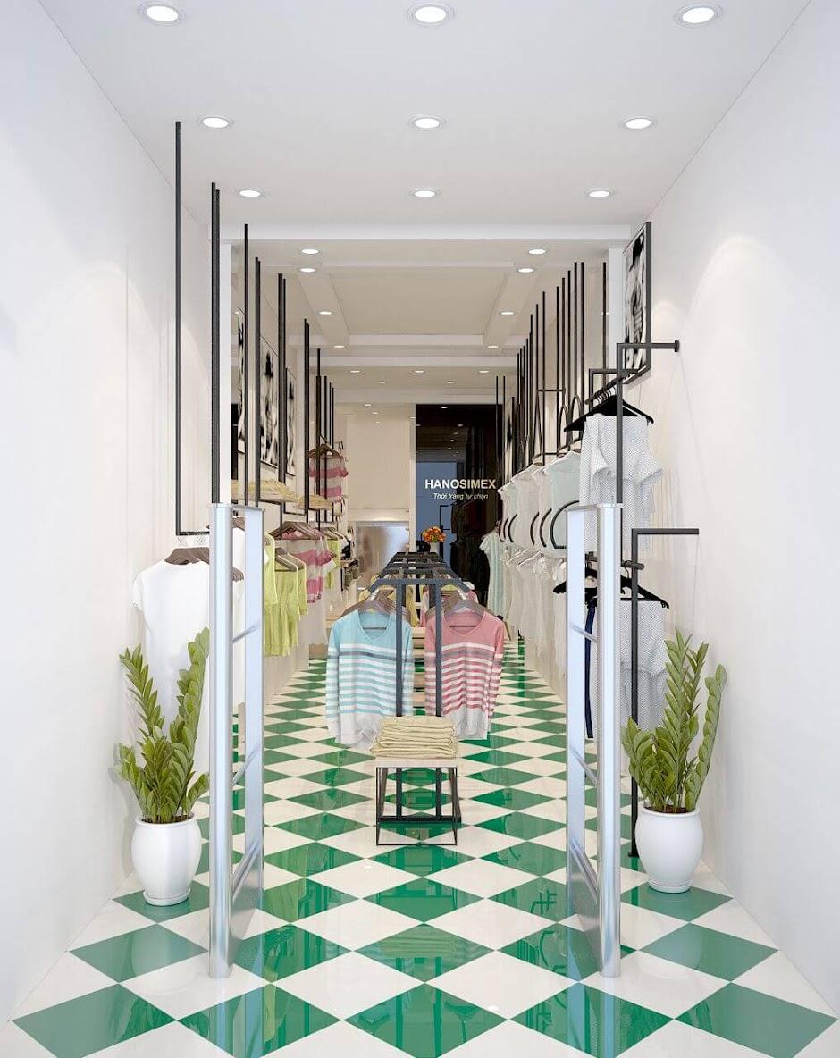 Thiết kế shop thời trang nữ Hanosimex