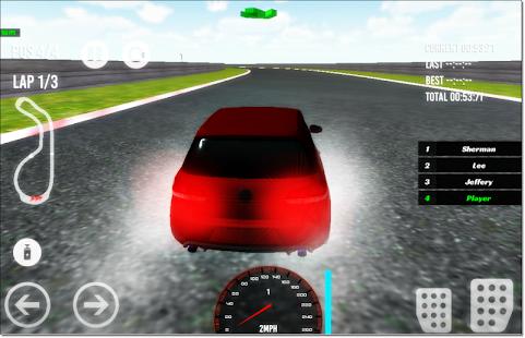Fast Hatchback Car Racing - náhled