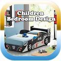 Child bedroom design icon