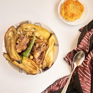 Mderbel Badendjel – Algerian Aubergine Tagine with Lamb / Mutton