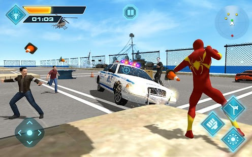 Download Flying Iron Spider Hero Adventure for PC