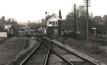 Photo: Entering the single track at Ascott (Jume 1972)