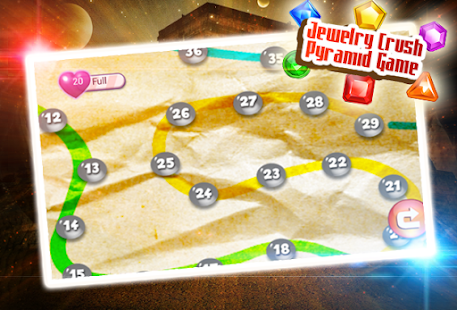 Jewelry Crush Pyramid Game - náhled