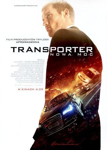Przód ulotki filmu 'Transporter: Nowa Moc'