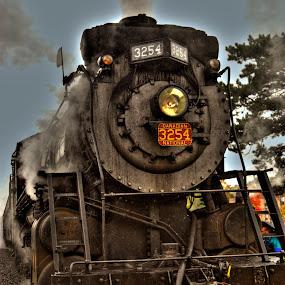 Train by Keith Wood - Transportation Trains ( kewphoto, hdr, poconos, train, keith wood,  )