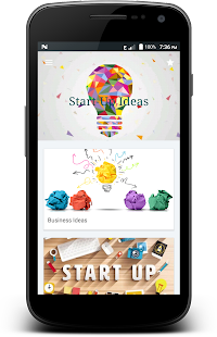 StartUp Ideas : 1000+ ideas & skills Screenshot