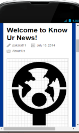 Know Ur News