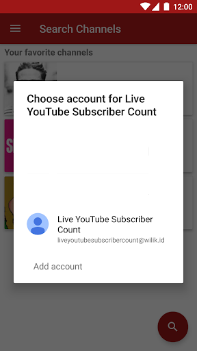 Live YouTube Subscriber Count 1.9.8a screenshots 6