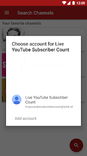 live youtube subscriber count apps on google play