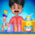 Indian Ice Gola Maker - Rainbow Ice Slush Maker icon