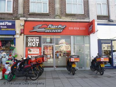 Pizza Hut Delivery On Kingsbury Road Pizza Takeaway In