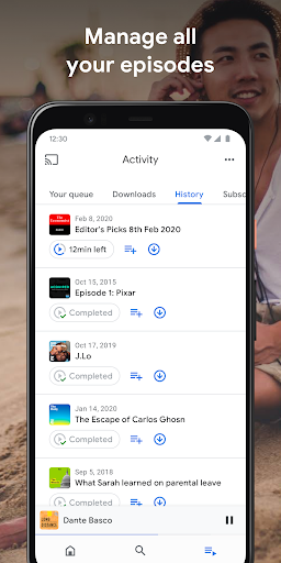 google podcasts: discover free & trending podcasts screenshot 3