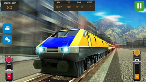 Modern Train Driving Simulator: City Train Games 2.1 screenshots 23