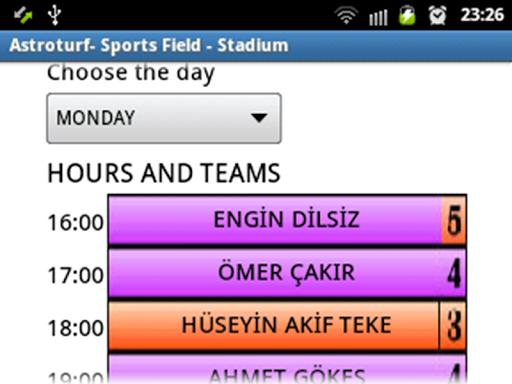 Astroturf - Match organization