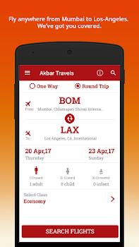 Akbar Travels - Flight Booking