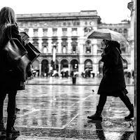 Sotto la pioggia di