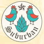 Logo for Suburban Restaurant and Beer Garden