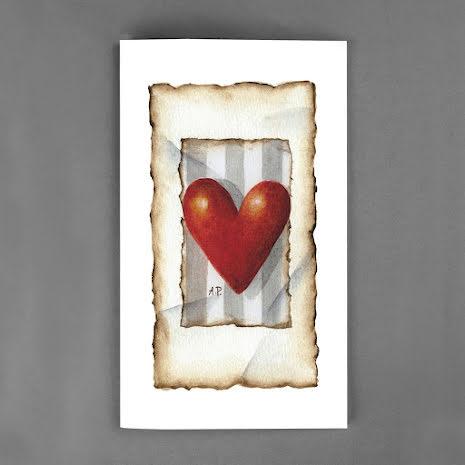 Stora kort - Hjärta