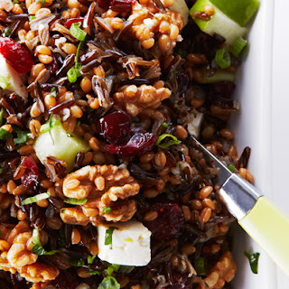 Wheat Berry and Wild Rice Salad Recipe