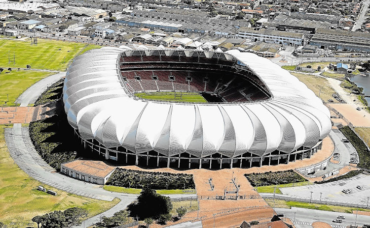 Port Elizabeth - Nelson Mandela Bay Stadium from the air. Picture: EUGENE COETZEE/THE HERALD