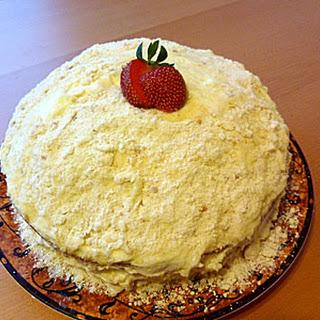 Cheesecake Factory Italian Cream Cake Knockoff