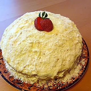 Cheesecake Factory Italian Cream Cake Knockoff.