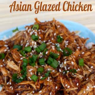 Slow Cooker Asian Glazed Chicken.